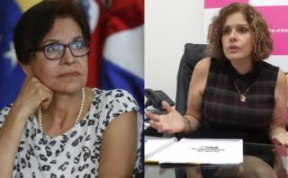 Mercedes Aráoz y Mercedes Cabanillas se enfrentan por 'baguazo'