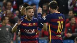 Barcelona: Alba marcó en tiempo extra tras gran pase de Messi
