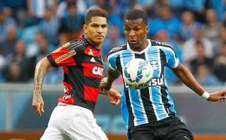 Paolo Guerrero: Flamengo perdió 1-0 Gremio por Brasileirao