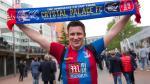 Llegada de hinchas a Wembley para el Manchester-Crystal Palace - Noticias de wembley