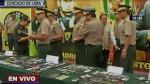 Recuperan 2.500 celulares robados que eran vendidos en galerías - Noticias de operativos policiales
