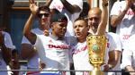 Facebook: Bayern Múnich transmitió en vivo las celebraciones - Noticias de douglas mawson