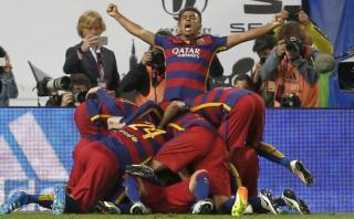 ¡Barcelona campeón de Copa del Rey! Ganó 2-0 a Sevilla