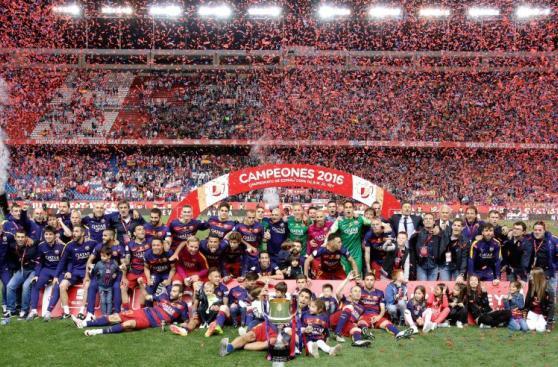Barcelona y su emocionante celebración tras ganar Copa del Rey