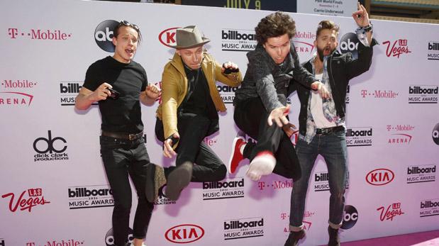 La banda Lukas Graham en los Billboard Music Awards. (Fotos: Reuters)