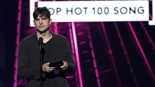 Ashton Kutcher  fue uno de los presentadores de los Billboard Music Awards. (Foto: AP)