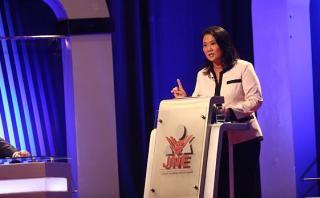 Debate: Keiko recordó a PPK apoyo que le dio en el 2011 [VIDEO]