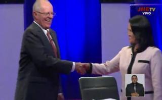 Debate presidencial: revive la polémica Keiko Fujimori vs. PPK