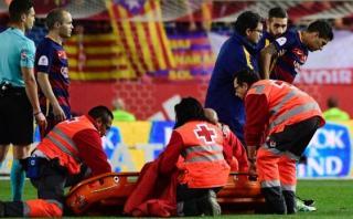 Luis Suárez sufre rotura de bíceps femoral, según medio español
