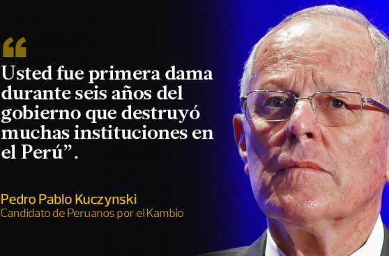 PPK: las frases que dejó en el debate con Keiko Fujimori