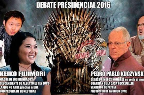 Debate presidencial: los memes del encuentro entre Keiko y PPK