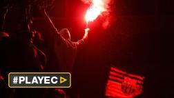 Barcelona: así celebraron hinchas el título de la Copa del Rey