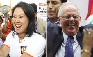 Simulacro Ipsos: Keiko 52,6% y PPK 47,4% en balotaje