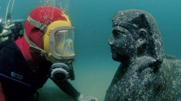 Las increíbles ciudades del antiguo Egipto sumergidas en el mar
