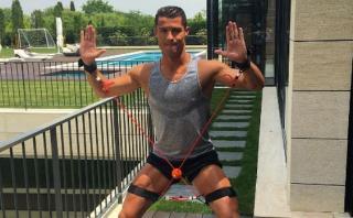 Mientras el Real Madrid descansa, Cristiano Ronaldo entrena