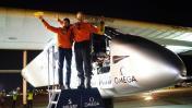 El avión solar Impulse II aterriza en Ohio
