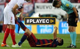 Luis Suárez: Barcelona confirmó la magnitud de su lesión