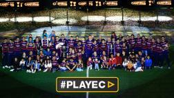El Barcelona celebró su doblete en el Camp Nou [VIDEO]