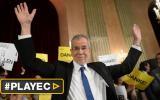 Ecologista gana reñidas elecciones presidenciales en Austria