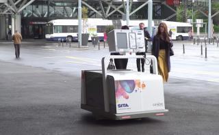 Conoce a Leo, el robot que recoge tus maletas en el aeropuerto