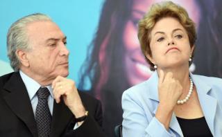 "Dilma Rousseff: ""Audio confirma golpe en mi contra"""