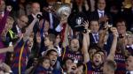 Barcelona y su emocionante celebración tras ganar Copa del Rey - Noticias de neymar en barcelona