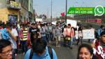 UNI: estudiantes salen a marchar por compañero atropellado - Noticias de plaza castilla