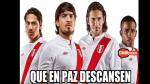 La selección peruana goleó pero igual fue víctima de memes - Noticias de estadio nacional