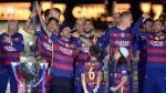Barcelona celebró doblete en familia sin Messi ni Luis Suárez - Noticias de luz artificial