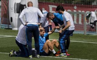 Cristiano Ronaldo y el golpe que asustó a todo Real Madrid