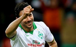 Claudio Pizarro: gol 100 con Bremen el mejor de la Bundesliga