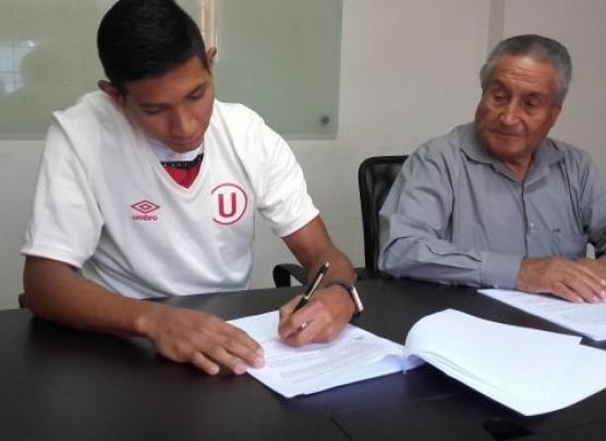 Universitario: Edison Flores renovó contrato hasta el 2017
