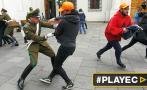 Chile: estudiantes vulneran seguridad del Palacio de La Moneda
