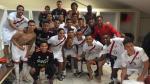 La selección peruana celebró su victoria en el vestuario - Noticias de copa federación