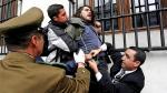 Chile: estudiantes entraron a la fuerza al Palacio de La Moneda - Noticias de palacio de gobierno