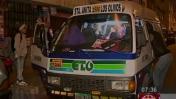 Rímac: tres sujetos armados robaron a pasajeros de combi