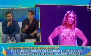 Tilsa Lozano estalló en vivo por comentarios de EVDLV [VIDEO]