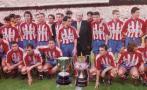 Atlético de Madrid obtuvo hace 20 años el doblete con Simeone