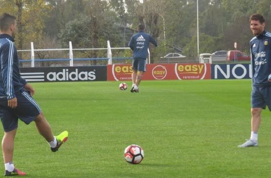 Selección argentina: Lionel Messi se sumó a los entrenamientos