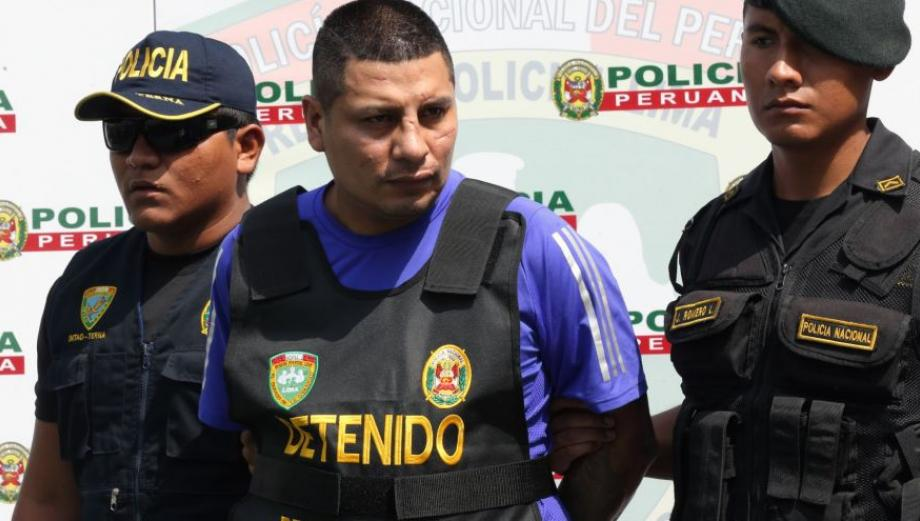 Los malditos de Bayóvar: presentan a detenidos y autos que usaban