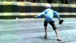 Calor extremo en la India provoca que las pistas se derritan