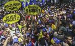 Venezuela: oposición protesta por revocatorio contra Maduro
