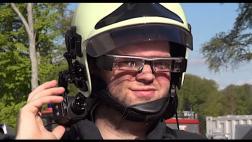Crean prototipo de visera con imagen térmica para los bomberos