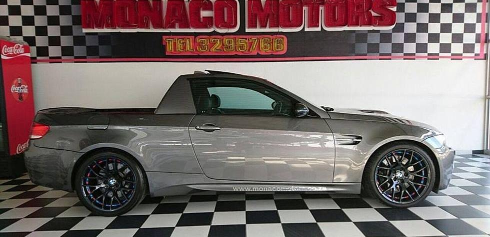 Convierten un BMW M3 E92 en ¿pick-up?