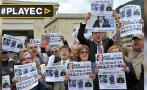 Protestas en Colombia para liberar a periodistas secuestrados