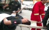 Una niña muerta y 39 policías heridos dejó vuelco de un bus