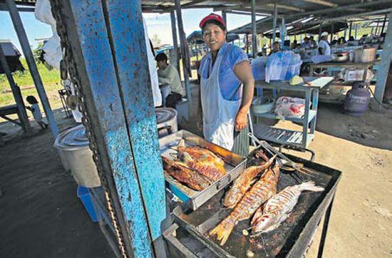 Casi nadie come pescado de río en Madre de Dios. Su ingesta es la principal vía de contaminación. (Dante Piaggio / El Comercio)