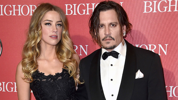 Amber Heard y Johnny Depp en los Palm Springs International Film Festival Awards a inicios de este año. (Foto: AFP)