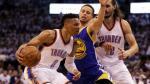 NBA: Russell Westbrook deja a Steph Curry al borde del KO - Noticias de la arena