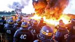 Francia: bloquean vía como protesta por reformas laborales - Noticias de huelga policial